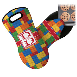 Building Blocks Neoprene Oven Mitt (Personalized)