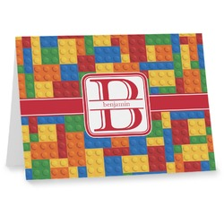 Building Blocks Note cards (Personalized)