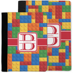 Building Blocks Notebook Padfolio w/ Name and Initial