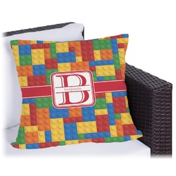 """Building Blocks Outdoor Pillow - 26"""" (Personalized)"""