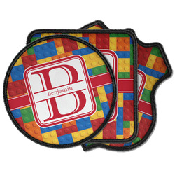 Building Blocks Iron on Patches (Personalized)