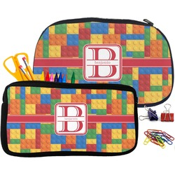 Building Blocks Pencil / School Supplies Bag (Personalized)