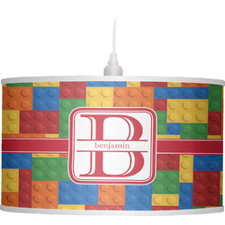 Building Blocks Drum Pendant Lamp (Personalized)