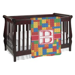 Building Blocks Baby Blanket (Personalized)