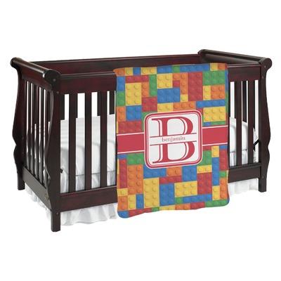 Building Blocks Baby Blanket (Personalized)