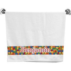 Building Blocks Bath Towel (Personalized)