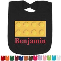 Building Blocks Baby Bib - 14 Bib Colors (Personalized)