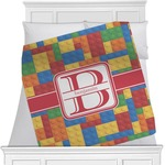 Building Blocks Minky Blanket (Personalized)