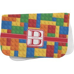 Building Blocks Burp Cloth (Personalized)