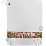 Building Blocks Golf Towel (Personalized)