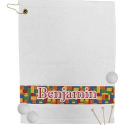 Building Blocks Golf Bag Towel (Personalized)