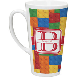 Building Blocks Latte Mug (Personalized)