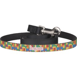 Building Blocks Dog Leash (Personalized)