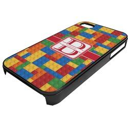 Building Blocks Plastic 4/4S iPhone Case (Personalized)