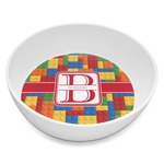Building Blocks Melamine Bowl 8oz (Personalized)