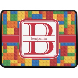 Building Blocks Rectangular Trailer Hitch Cover (Personalized)