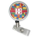 Building Blocks Retractable Badge Reel (Personalized)
