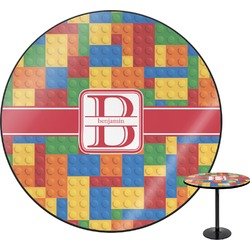 "Building Blocks Round Table - 30"" (Personalized)"