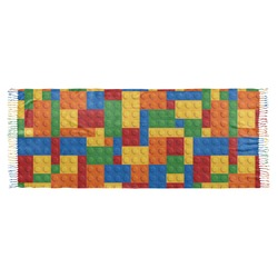 Building Blocks Faux Pashmina Shawl (Personalized)