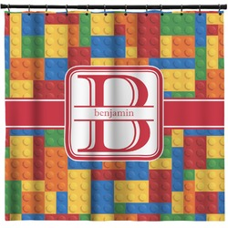 Building Blocks Shower Curtain (Personalized)