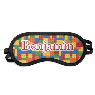 Building Blocks Sleeping Eye Mask (Personalized)