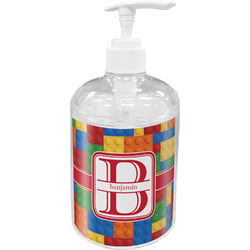 Building Blocks Soap / Lotion Dispenser (Personalized)
