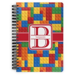 Building Blocks Spiral Bound Notebook (Personalized)