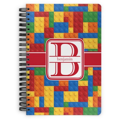 Building Blocks Spiral Notebook (Personalized)