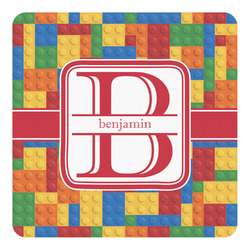 Building Blocks Square Decal (Personalized)