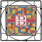 Building Blocks Square Trivet (Personalized)