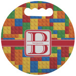 Building Blocks Stadium Cushion (Round) (Personalized)