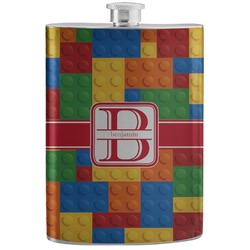 Building Blocks Stainless Steel Flask (Personalized)
