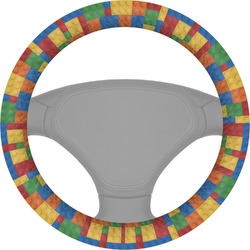 Building Blocks Steering Wheel Cover (Personalized)