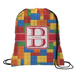 Building Blocks Drawstring Backpack (Personalized)