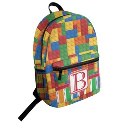 Building Blocks Student Backpack (Personalized)