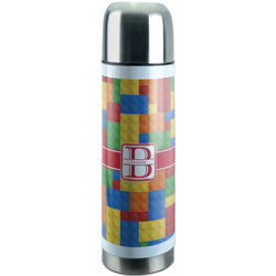 Building Blocks Stainless Steel Thermos (Personalized)