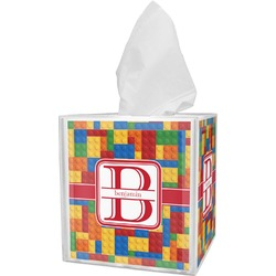 Building Blocks Tissue Box Cover (Personalized)