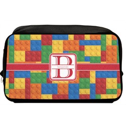 Building Blocks Toiletry Bag / Dopp Kit (Personalized)
