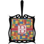 Building Blocks Trivet with Handle (Personalized)