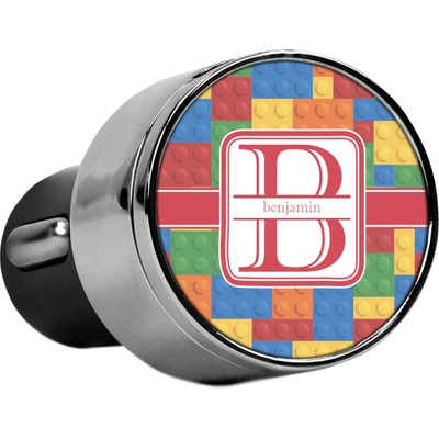Building Blocks USB Car Charger (Personalized)