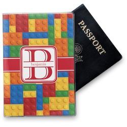 Building Blocks Vinyl Passport Holder (Personalized)