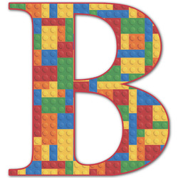 Building Blocks Letter Decal - Custom Sizes (Personalized)