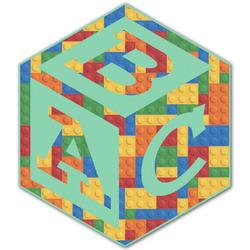 Building Blocks Monogram Decal - Custom Sizes (Personalized)