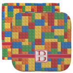 Building Blocks Facecloth / Wash Cloth (Personalized)