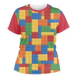 Building Blocks Women's Crew T-Shirt (Personalized)
