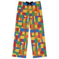 Building Blocks Womens Pajama Pants (Personalized)