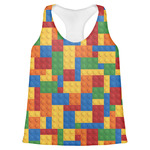 Building Blocks Womens Racerback Tank Top (Personalized)