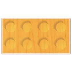 Building Blocks Genuine Wood Sticker (Personalized)