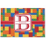 Building Blocks Woven Mat (Personalized)