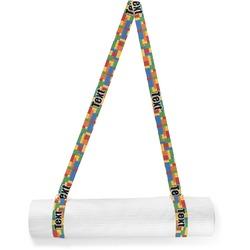 Building Blocks Yoga Mat Strap (Personalized)